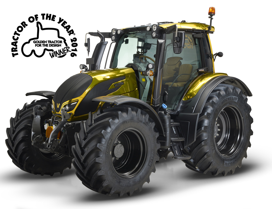 N174 - Golden Tractor For The Design